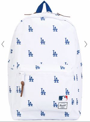LA Dodgers White Cordura Backpack From Herschel Supply Co. for Sale in Fairfax, VA