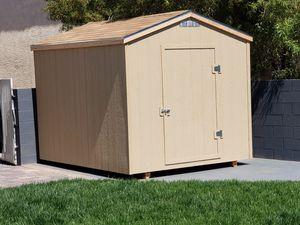 New 8x10 storage shed installed on site in one day $1325 for Sale in Las Vegas, NV