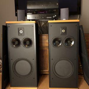 POLK Audio SDA 2B (Stereo Dimensional Array) Tower Speakers + Canton [ Plz Read Description Below. ] for Sale in Pompano Beach, FL