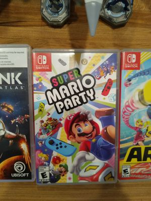 Super Mario Party for Nintendo Switch. Like new condition, open to trades and cash if local. for Sale in Clemmons, NC