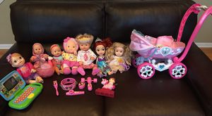 Disney princess dolls and more toys for Sale in Lake in the Hills, IL