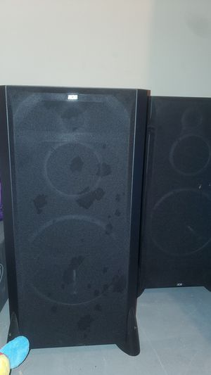 2 DCM speakers, still in great condition, but don't have the wires for it anymore. $100 OBO for Sale in Clarksville, TN