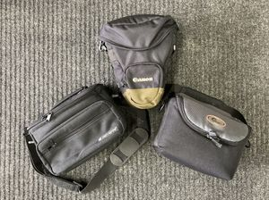 Three Small, Padded Camera Bags: CANON, LOWEPRO, SAMSONITE for Sale in Clifton Heights, PA
