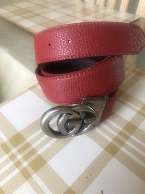 🌲🌲$47 NEW ELEGANT METAL BUCKLE RED BELT for Sale in Bloomington, CA