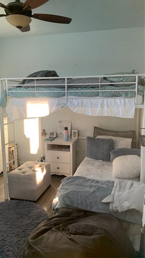 Full size loft bed for Sale in Riverbank, CA