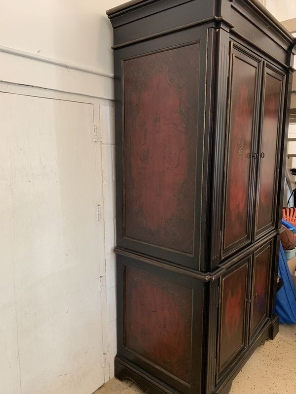 Beautiful Hand Painted Armoire/ Dresser! NEED GONE BY 8/22 MAKE AN OFFER!