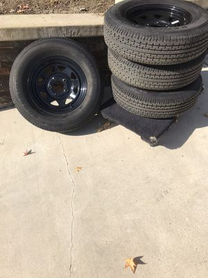 New trailer wheels and tires for Sale in San Dimas, CA