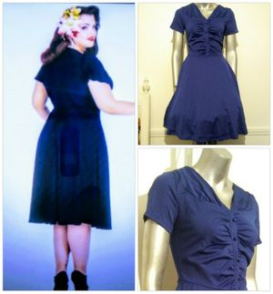 PIN Up 40'/ 50's Retro Blue dress for Sale in Whittier, CA