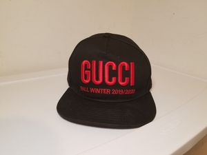 Gucci Logo Black Hat for Sale in Queens, NY