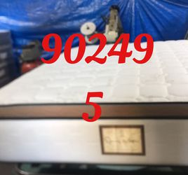 "12"" Thick foam encase pillow top mattress. Free delivery. Twin Mattress only-$199 Mattress & box spring-$235 Full Mattress only-$265 Mattress and for Sale in Torrance,  CA"
