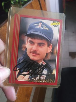 Jeff Gordon maxx rookie card autographed for Sale in West Columbia, SC