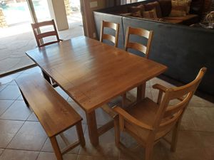 Rustic Kitchen Table Set for Sale in Mesa, AZ