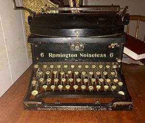 b35224755b0 Antique 1926 Remington Noiseless No. 6 Typewriter for Sale in San Antonio