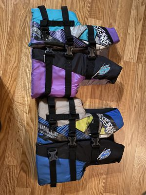 Kids life vest 20 a piece for Sale in Indianapolis, IN