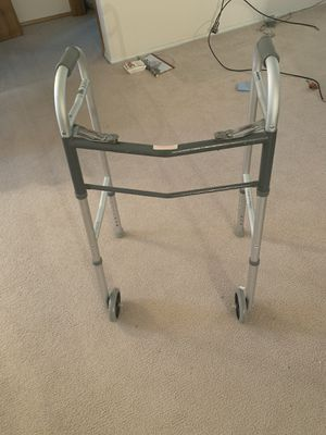 Walker for Seniors or surgery recovery. One with wheels $20 One without wheels $15 for Sale in Kennewick, WA