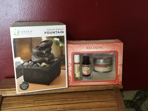 New Relaxing Fountain Gift Set for Sale in Waldo, OH