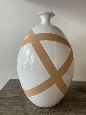 Negative Space Ceramic Vase for Sale in San Diego, CA