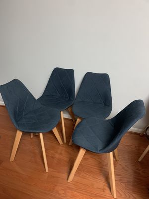 Mid century modern dining chairs for Sale in Frederick, MD