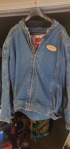 CORTECH Men 4x motorcycle jean jacket with armored padding. for Sale in Norcross, GA