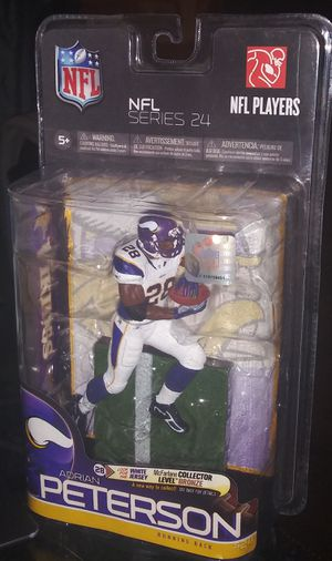 Adrian Peterson McFarland Action Figure for Sale in Selma, TX