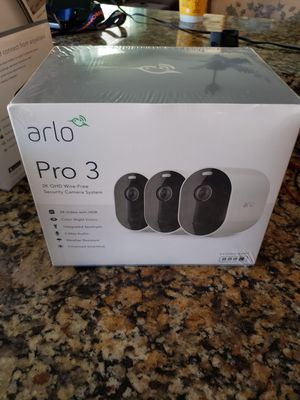 NEW/SEALED Arlo Pro 3 wireless security camera system (better than arlo spotlight essential) for Sale in Gilbert, AZ