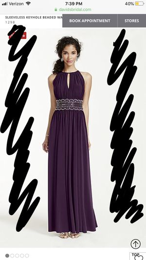 Women's Purple Gown/Dress for Sale in Cary, NC
