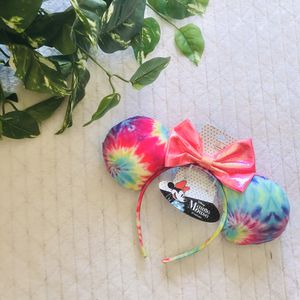 NWT Disney minnie mouse ears headband tie dye new for Sale in Clermont, FL