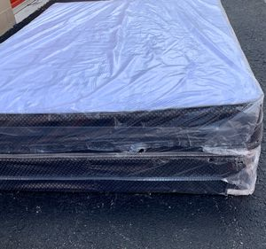 New Queen Size Mattress and Box Spring Set - 2PC for Sale in Pompano Beach, FL