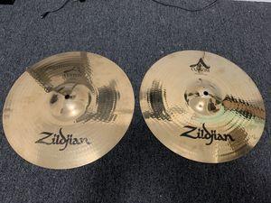"Zildjian A Custom hi-hats 14"" for Sale in Chicago, IL"