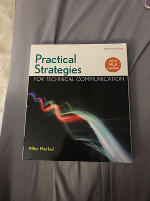 Practical Strategies for Technical Communication. 2nd Edition. for Sale in Silver Spring, MD
