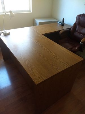 L-shaped Executive Desk for Sale in Mesa, AZ