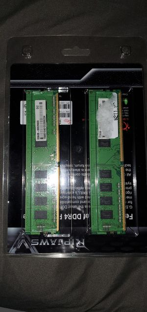 FS>Hynix DDR4 Ram 16GB (2x8gb) 2133Mhz Originally from asus gaming desktop for Sale in Los Alamitos, CA