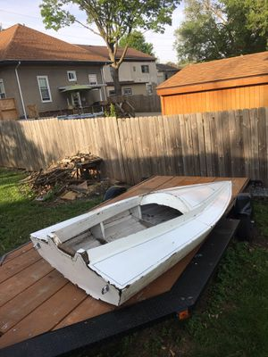 Old Wood Boat 4'x9' for Sale in Ladd, IL