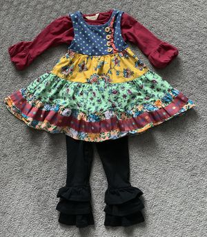 Toddler Girl Matilda Jane 3 Piece Outfit Size 2 for Sale in Naperville, IL