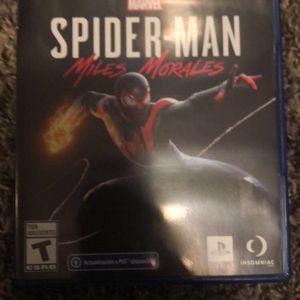 Spider Man Miles Morales Game for Sale in Riverside, CA