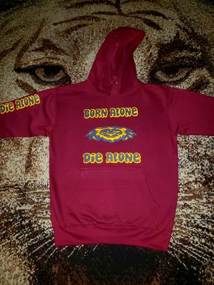 Born Alone Die Alone Custom Pullover/Hoodie for Sale in Fort Worth, TX