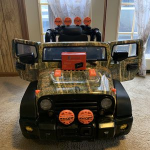 6 Volt Camo Kids Car With Extra Battery for Sale in Westminster, MD