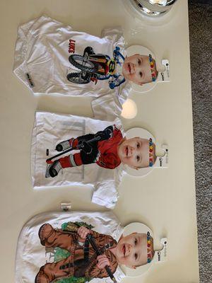 Just add a kid quality Tshirt -Bib - Romper for Sale in Los Angeles, CA