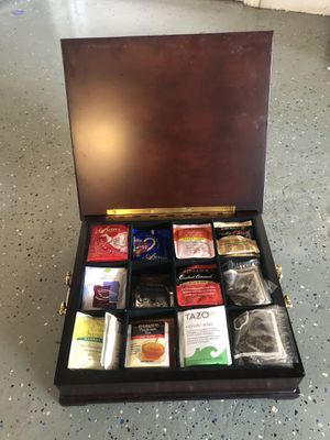 Wooden Tea (or storage) Box for Sale in South Gate, CA