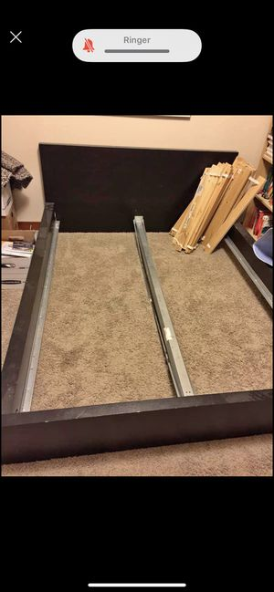 Ikea malm queen bed frame for Sale in Bothell, WA