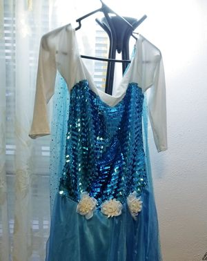 Elsa costume Adult M/L for Sale in Fort Myers, FL
