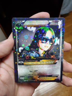 Billie eilish star holo pokemon card for Sale in Glen Cove, NY