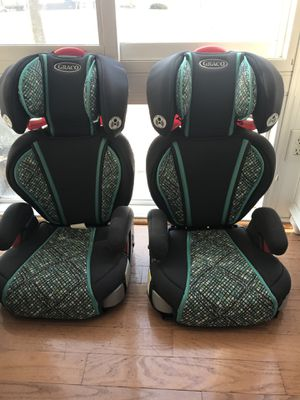 Booster car seat x 2 for Sale in Stoneham, MA