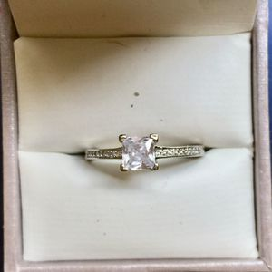 Silver filled wedding engagement ring women's jewelry accessory sz 5, 6,6,5,7,8.5 available for Sale in Colesville, MD