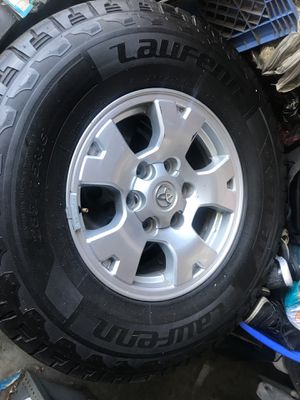 Toyota Tacoma rims & tires (set of 4 ) for Sale in City of Industry, CA
