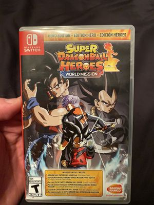 Super Dragonball Hero's - Nintendo Switch for Sale in Garden Grove, CA