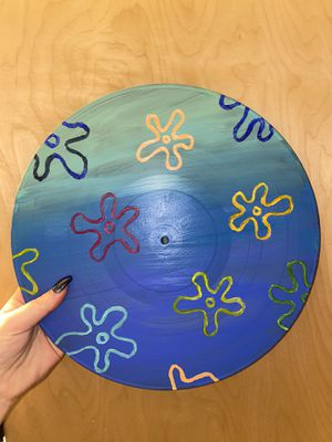 Custom Hand Painted Vinyl Records for Sale in Eugene, OR