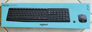 BRAND NEW LOGITECH- MK235 Wireless Keyboard & Mouse for Sale in Carrollton, TX