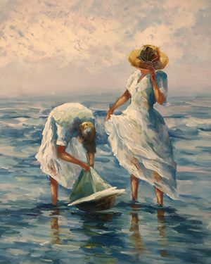 GIRLS AT THE BEACH for Sale in Pompano Beach, FL