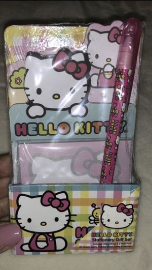 Brand new Hello kitty stationary set for Sale in Poinciana, FL